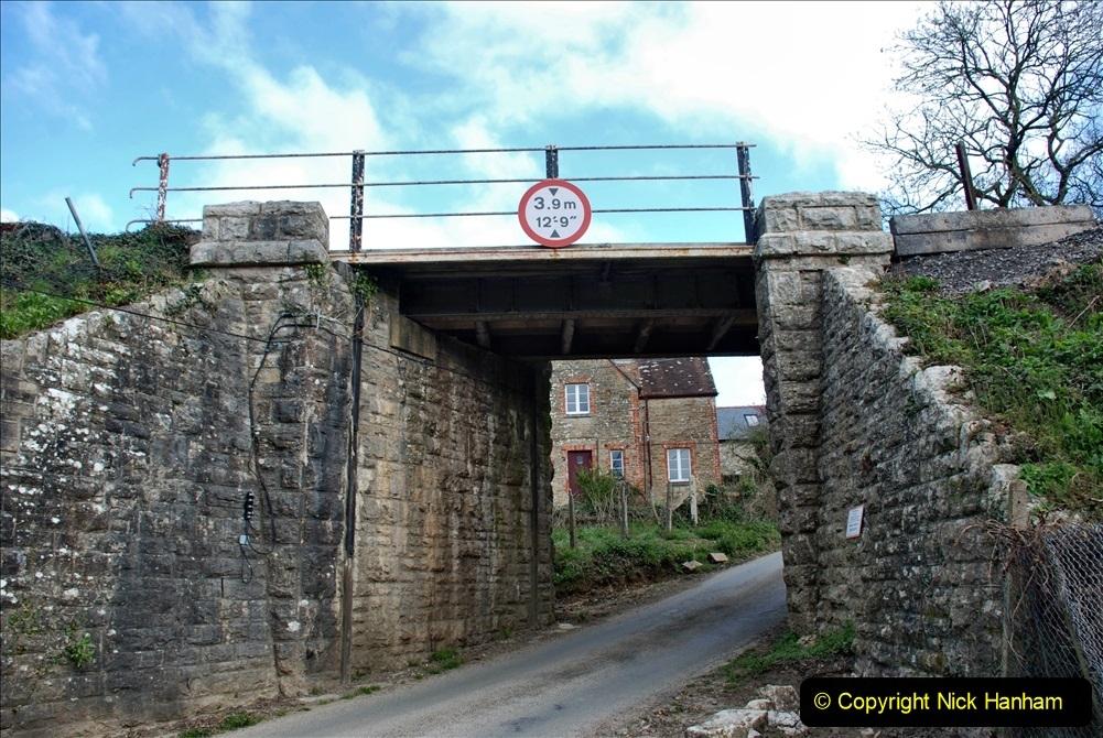 2021-04-03 SR staff training day. (83) Bridge 25 new timbers for rail support and brickwork repairs. 083
