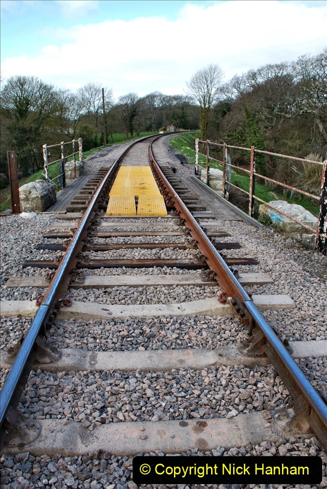 2021-04-03 SR staff training day. (89) Bridge 25 new timbers for rail support and brickwork repairs. 089