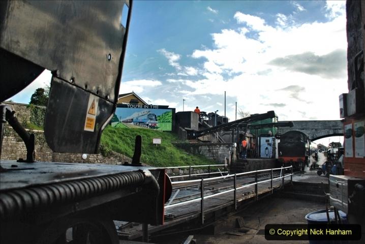 2021-04-09 Swanage - Harmans X - Corfe Castle - Norden. Crew training. (20) 020