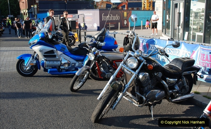2021-06-01 First Bikers night on Poole Quay since lockdown. (189) 189