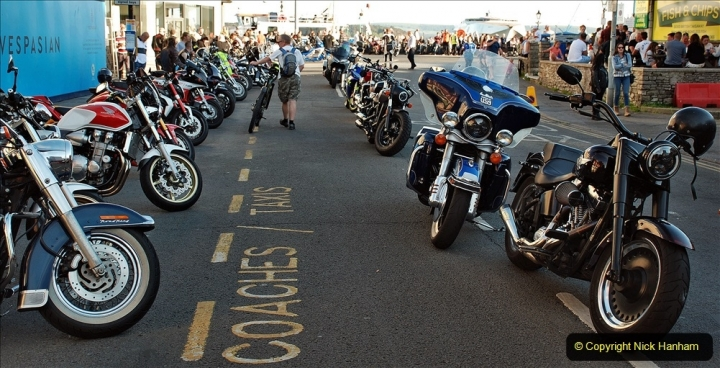 2021-06-01 First Bikers night on Poole Quay since lockdown. (206) 206