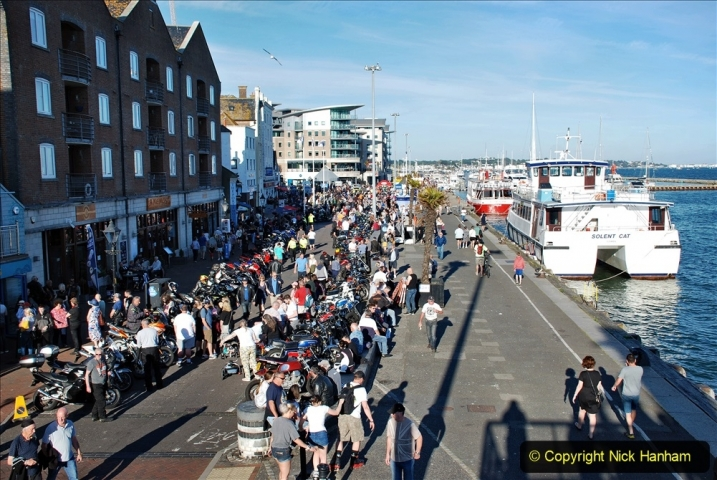 2021-06-01 First Bikers night on Poole Quay since lockdown. (42) 042