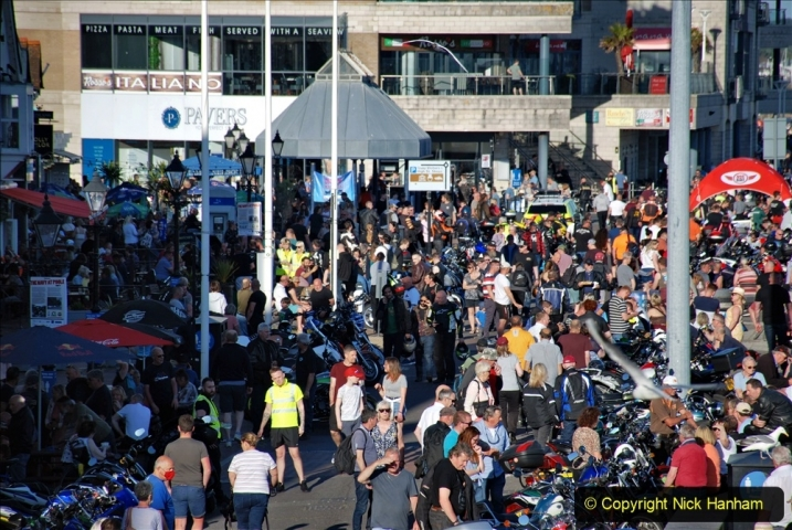 2021-06-01 First Bikers night on Poole Quay since lockdown. (44) 044