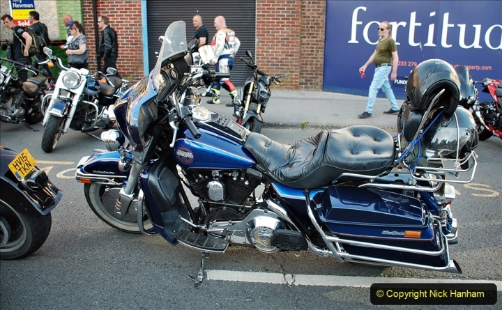 2021-06-01 First Bikers night on Poole Quay since lockdown. (5) 005