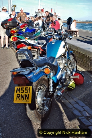 2021-06-01 First Bikers night on Poole Quay since lockdown. (58) 058
