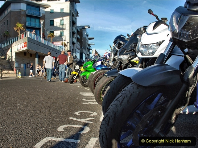 2021-06-01 First Bikers night on Poole Quay since lockdown. (82) 082