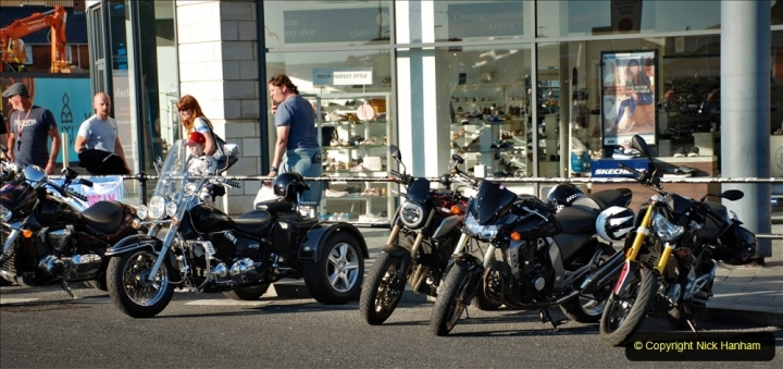 2021-06-01 First Bikers night on Poole Quay since lockdown. (84) 084