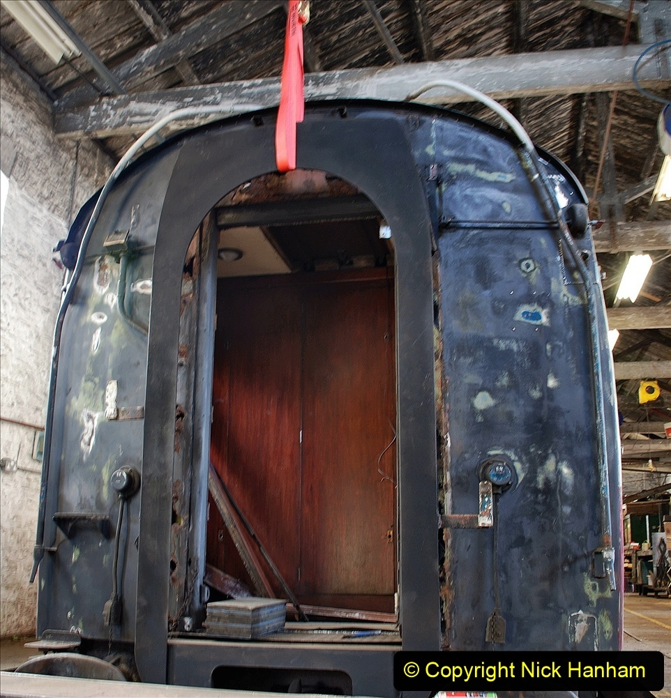 2021-07-09 End of Southern Steam 1967. (25) New end section for coach. 026