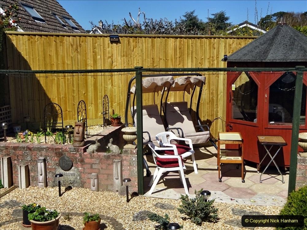 2021-08-14 Back garden makeover completed Part 3