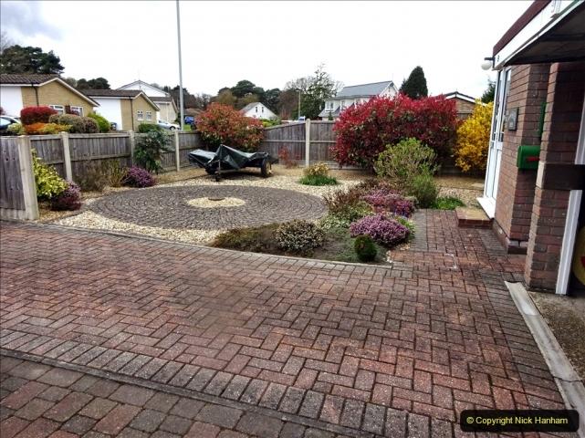 2021-04-08 Garden makeover progress so far. (1) Front garden. 002