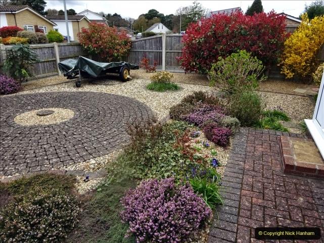 2021-04-08 Garden makeover progress so far. (4) Front garden. 005