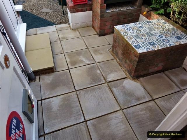 2021-08-14 Rear garden makeover final work. (2) 105