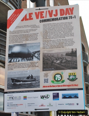 2021-08-15 Poole Quay VE & VJ Day 75 +1 remembered. (119) 119