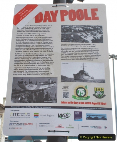 2021-08-15 Poole Quay VE & VJ Day 75 +1 remembered. (120) 120