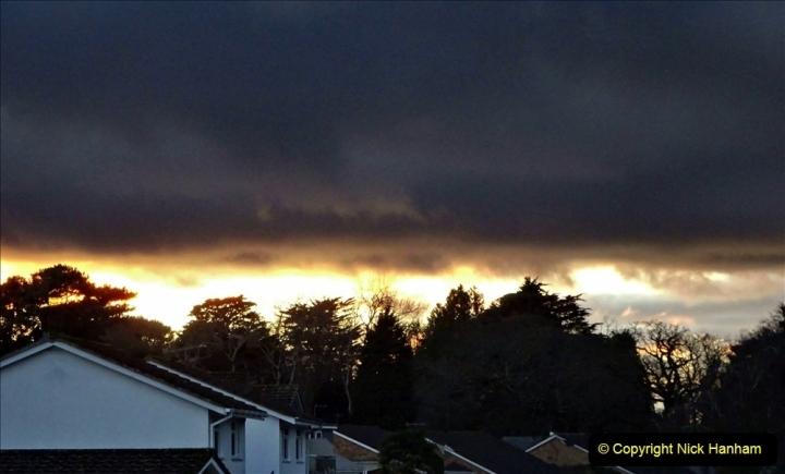 2021-01-13 Sunset ove Poole, Dorset. (4) 036
