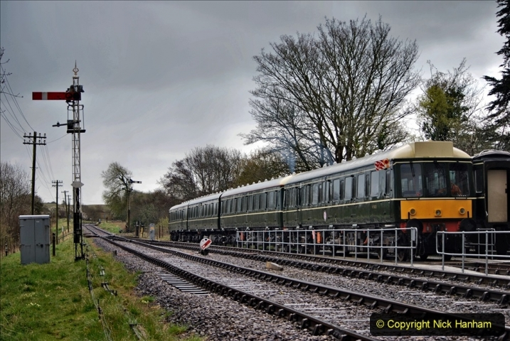 2021-04-12 SR First public train of 2021. (97) 097