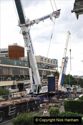 2021-08-01 Poole Hospital Crane Operation. (13) 013