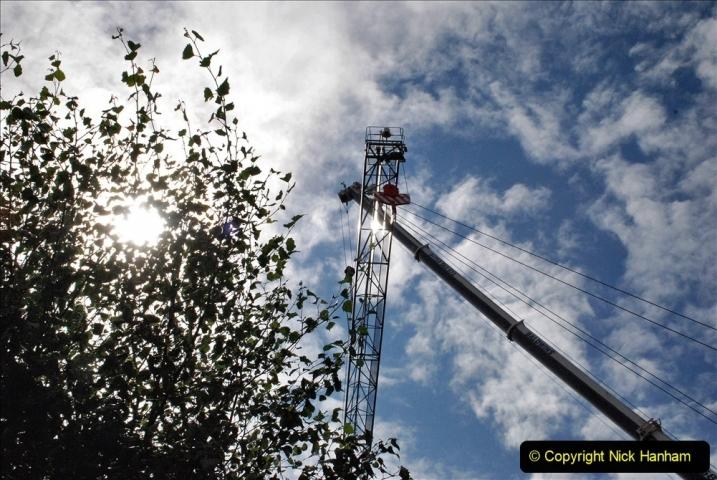 2021-08-01 Poole Hospital Crane Operation. (4) 004