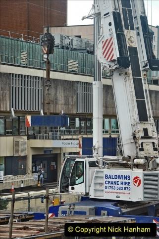 2021-08-01 Poole Hospital Crane Operation. (40) 040