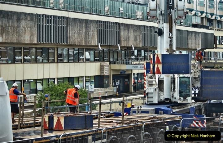 2021-08-01 Poole Hospital Crane Operation. (46) 046