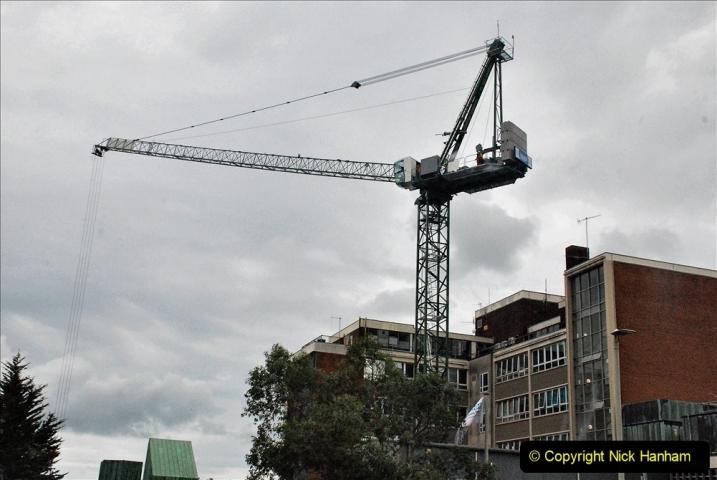 2021-08-01 Poole Hospital Crane Operation. (78) 078