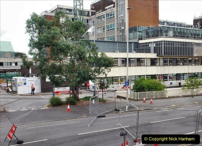 2021-08-01 Poole Hospital Crane Operation. (80) 080