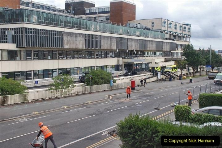 2021-08-01 Poole Hospital Crane Operation. (88) 088