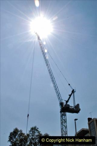 2021-08-04 Poole Hospital Crane Operation. (97) 097