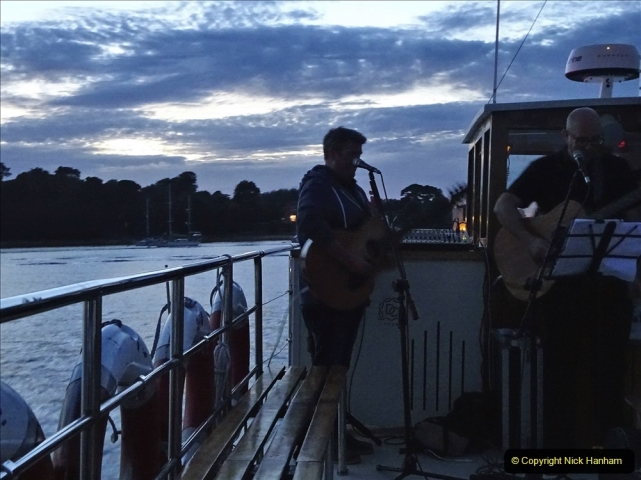 2021-08-14 SR Volunteers & Staff Boat trip & BBQ Poole Harbour & Poole Bay. (129) 129