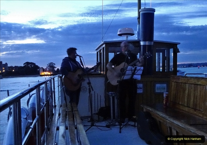 2021-08-14 SR Volunteers & Staff Boat trip & BBQ Poole Harbour & Poole Bay. (131) 131