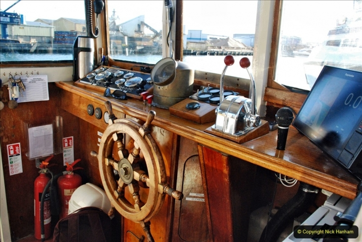 2021-08-14 SR Volunteers & Staff Boat trip & BBQ Poole Harbour & Poole Bay. (14) 014