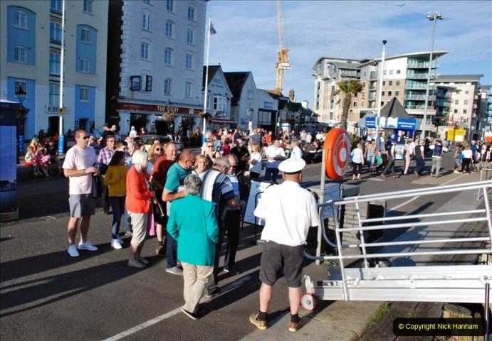 2021-08-14 SR Volunteers & Staff Boat trip & BBQ Poole Harbour & Poole Bay. (15) 015