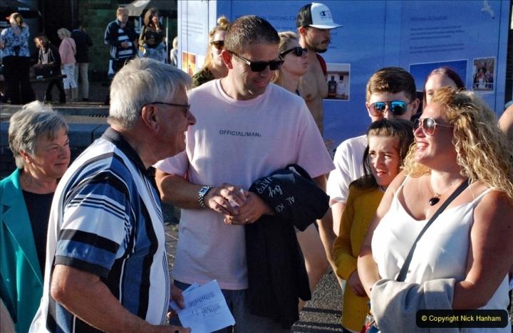 2021-08-14 SR Volunteers & Staff Boat trip & BBQ Poole Harbour & Poole Bay. (16) 016