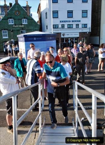 2021-08-14 SR Volunteers & Staff Boat trip & BBQ Poole Harbour & Poole Bay. (17) 017