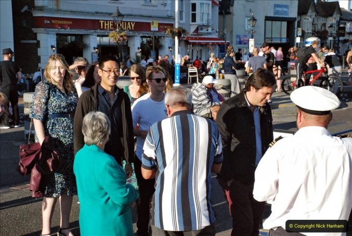 2021-08-14 SR Volunteers & Staff Boat trip & BBQ Poole Harbour & Poole Bay. (18) 018