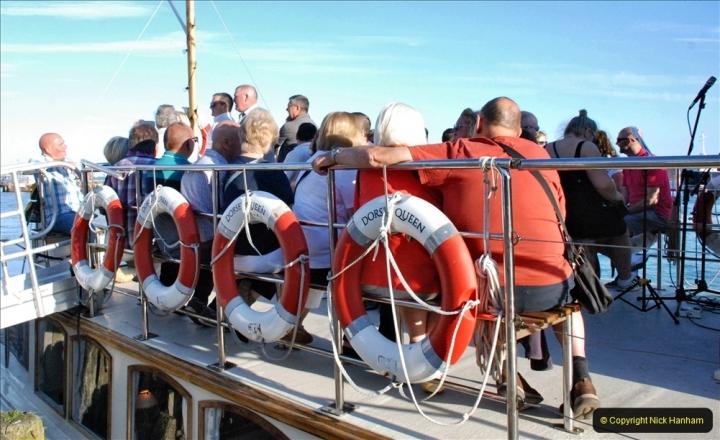 2021-08-14 SR Volunteers & Staff Boat trip & BBQ Poole Harbour & Poole Bay. (19) 019