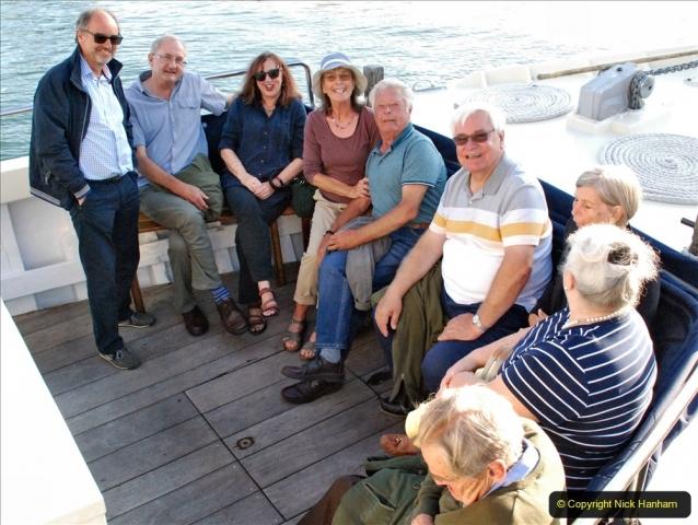 2021-08-14 SR Volunteers & Staff Boat trip & BBQ Poole Harbour & Poole Bay. (23) 023