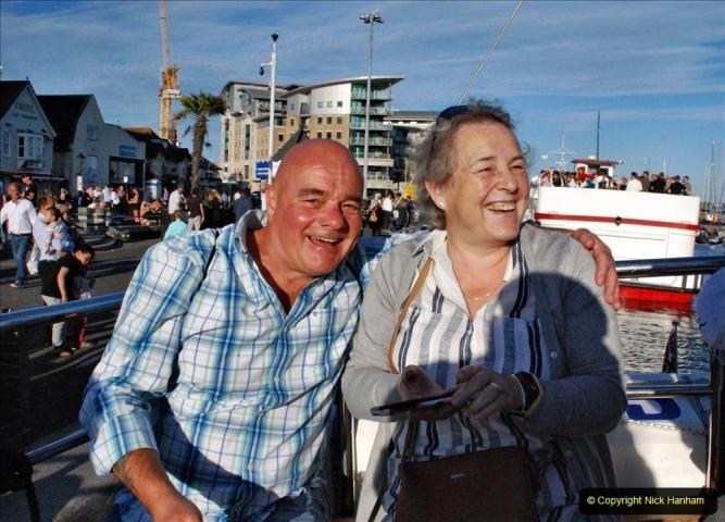 2021-08-14 SR Volunteers & Staff Boat trip & BBQ Poole Harbour & Poole Bay. (24) 024