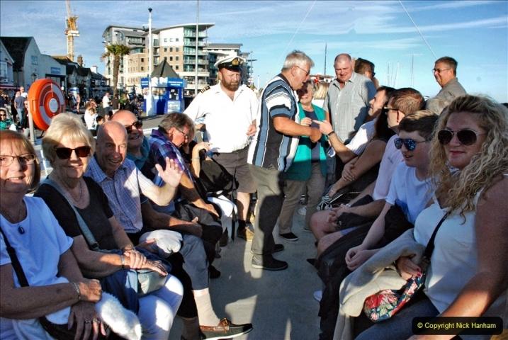 2021-08-14 SR Volunteers & Staff Boat trip & BBQ Poole Harbour & Poole Bay. (25) 025