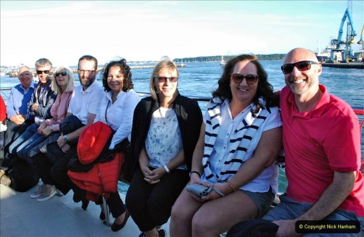 2021-08-14 SR Volunteers & Staff Boat trip & BBQ Poole Harbour & Poole Bay. (26) 026