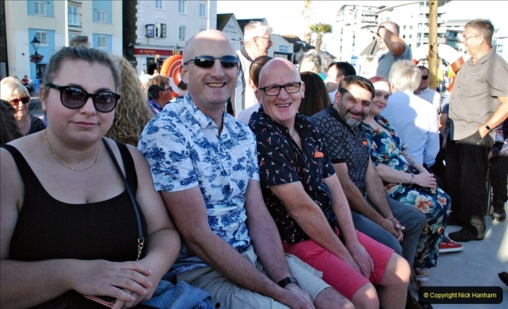 2021-08-14 SR Volunteers & Staff Boat trip & BBQ Poole Harbour & Poole Bay. (27) 027
