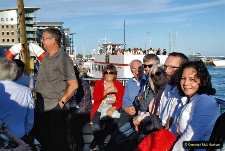 2021-08-14 SR Volunteers & Staff Boat trip & BBQ Poole Harbour & Poole Bay. (28) 028