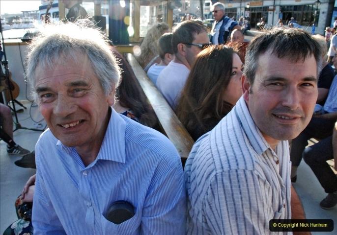2021-08-14 SR Volunteers & Staff Boat trip & BBQ Poole Harbour & Poole Bay. (29) 029