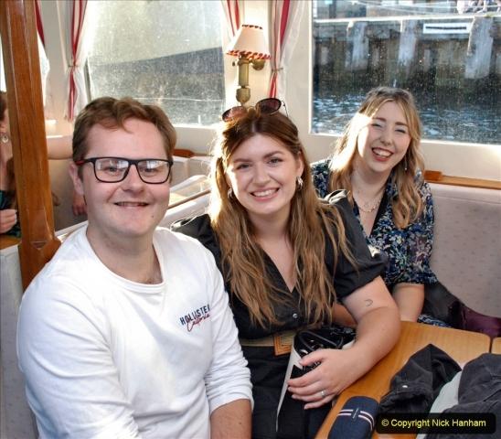 2021-08-14 SR Volunteers & Staff Boat trip & BBQ Poole Harbour & Poole Bay. (30) 030