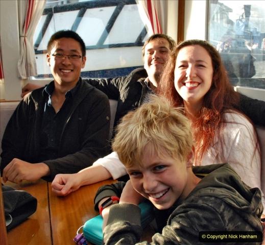 2021-08-14 SR Volunteers & Staff Boat trip & BBQ Poole Harbour & Poole Bay. (31) 031