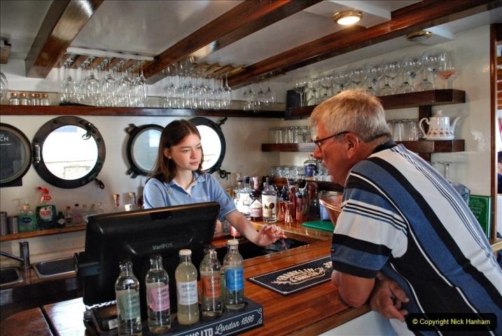 2021-08-14 SR Volunteers & Staff Boat trip & BBQ Poole Harbour & Poole Bay. (32) 032