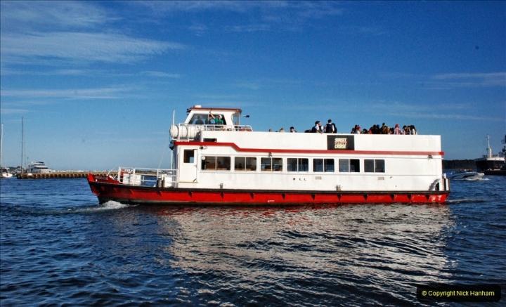 2021-08-14 SR Volunteers & Staff Boat trip & BBQ Poole Harbour & Poole Bay. (41) 041