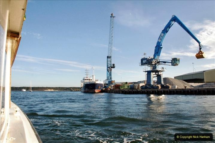 2021-08-14 SR Volunteers & Staff Boat trip & BBQ Poole Harbour & Poole Bay. (43) 043