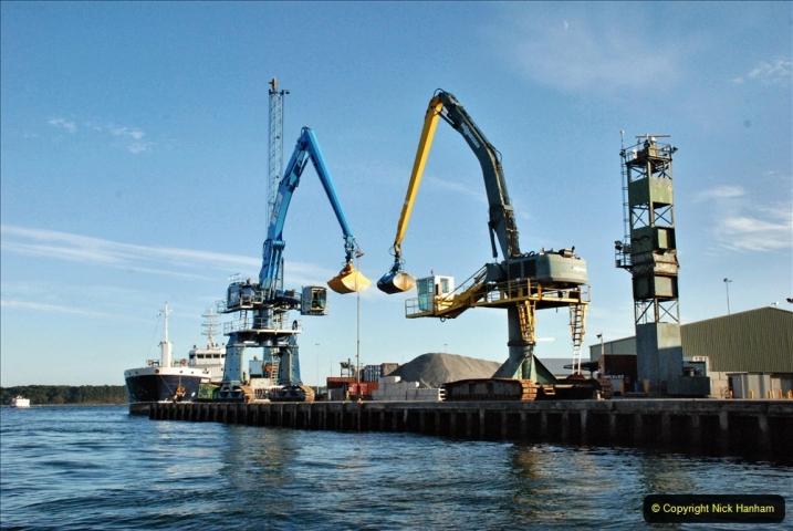 2021-08-14 SR Volunteers & Staff Boat trip & BBQ Poole Harbour & Poole Bay. (44) 044