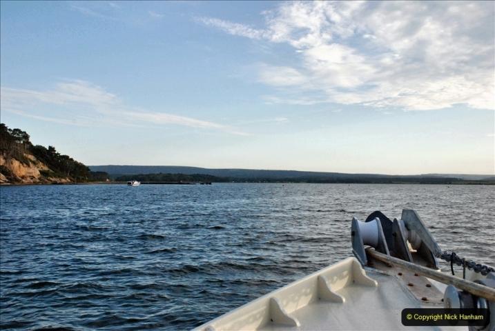 2021-08-14 SR Volunteers & Staff Boat trip & BBQ Poole Harbour & Poole Bay. (48) 048
